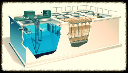 Sardegna - Impianto per il trattamento delle acque